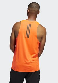 adidas Performance - RISE UP N RUN SINGLET - Linne - orange - 1
