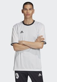 adidas Performance - TAN REVERSIBLE JERSEY - Print T-shirt - white - 0