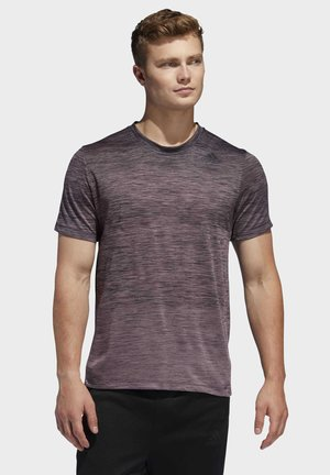 TECH GRADIENT T-SHIRT - T-shirt basic - legacy purple