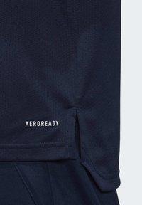 adidas Performance - SWEDEN SVFF TRAINING SHIRT - T-Shirt print - blue - 3