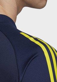 adidas Performance - SWEDEN SVFF TRAINING SHIRT - T-Shirt print - blue - 4