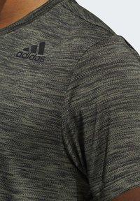 adidas Performance - TECH GRADIENT T-SHIRT - T-shirts med print - legacy green - 4