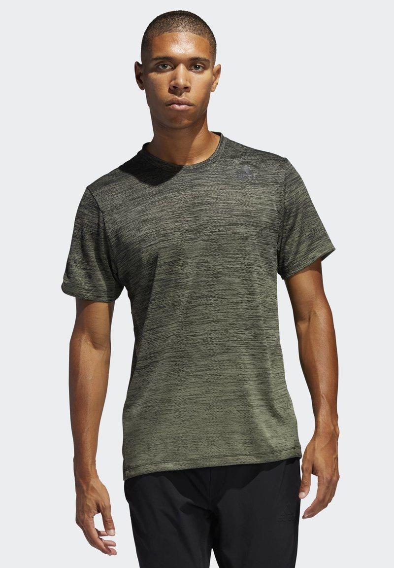 adidas Performance - TECH GRADIENT T-SHIRT - T-shirts med print - legacy green