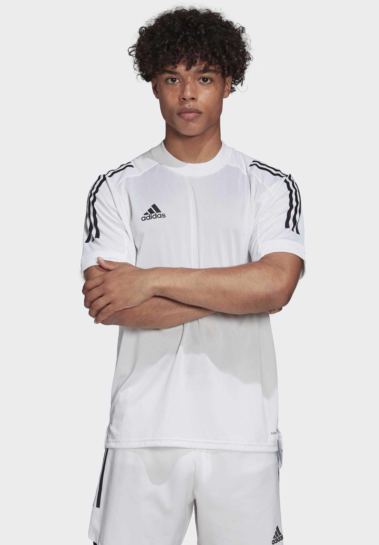 Adidas Performance Condivo 20 Training Jersey - T-shirt Med Print White