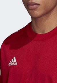 adidas Performance - CONDIVO 20 TRAINING JERSEY - Sportswear - team power red - 4