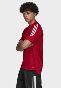 adidas Performance - CONDIVO 20 TRAINING JERSEY - Sportswear - team power red - 2