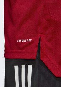 adidas Performance - CONDIVO 20 TRAINING JERSEY - Sportswear - team power red - 5