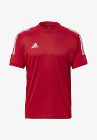 adidas Performance - CONDIVO 20 TRAINING JERSEY - Sportswear - team power red - 7