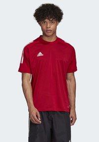 adidas Performance - CONDIVO 20 TRAINING JERSEY - Sportswear - team power red - 0
