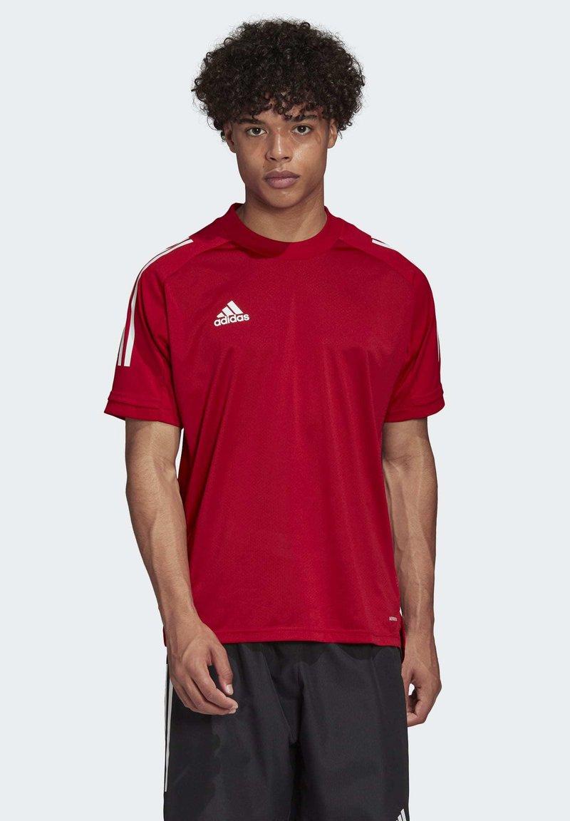 adidas Performance - CONDIVO 20 TRAINING JERSEY - Sportswear - team power red