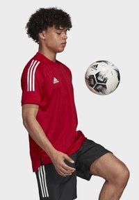 adidas Performance - CONDIVO 20 TRAINING JERSEY - Sportswear - team power red - 3