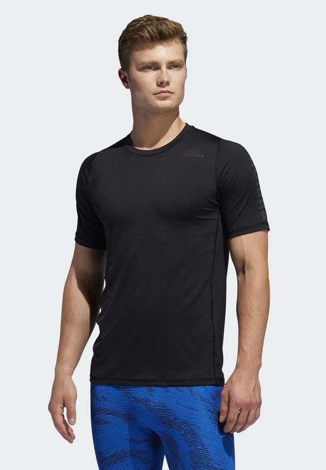 ALPHASKIN GRAPHIC T-SHIRT - T-shirts print - black