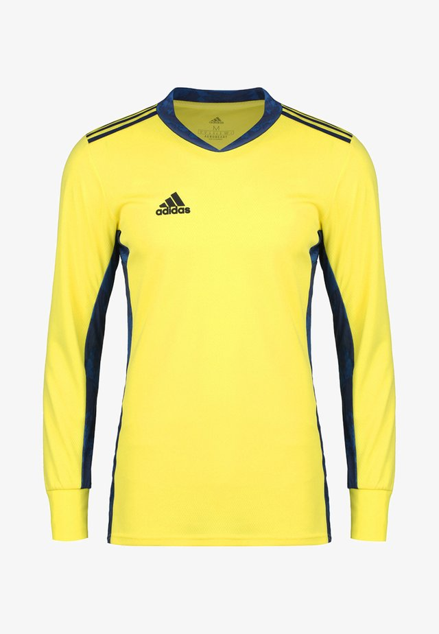 TORWARTTRIKOT - Sports shirt - shock yellow/navy blue