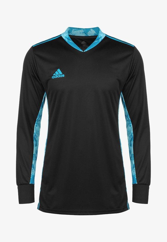TORWARTTRIKOT - Camiseta de deporte - black/bold aqua