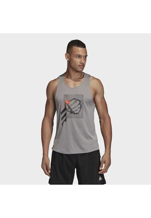 DECODE TANK TOP - Toppi - grey