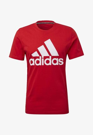 MUST HAVES BADGE OF SPORT T-SHIRT - T-shirt imprimé - red