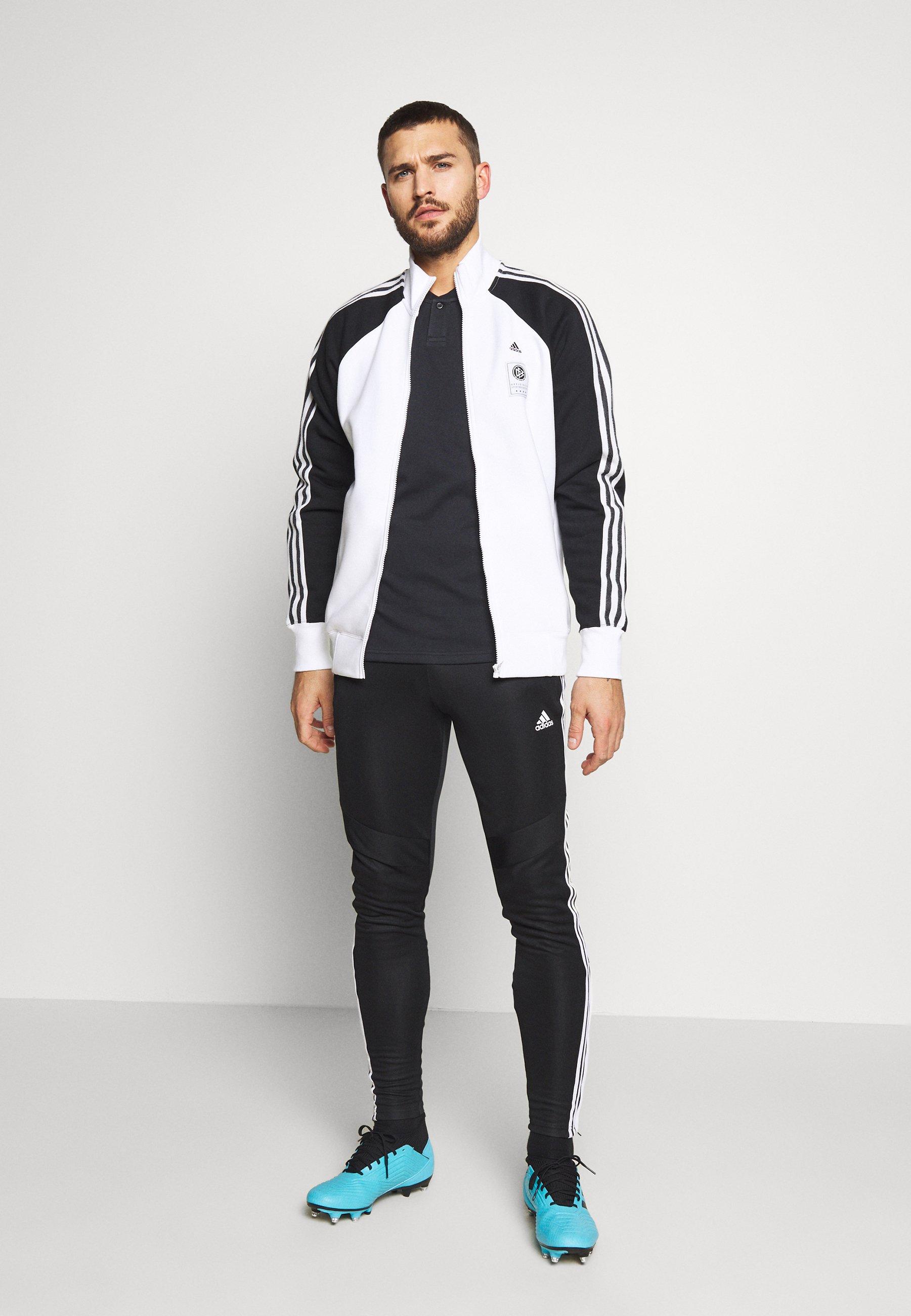 adidas Performance DEUTSCHLAND DFB ICONS TOP - National team wear - white/black