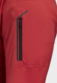 adidas Performance - STOCKHORN FLEECE JACKET - Sweat polaire - glory red - 5