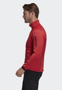 adidas Performance - STOCKHORN FLEECE JACKET - Sweat polaire - glory red - 3