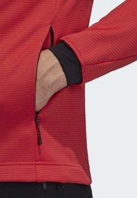 adidas Performance - STOCKHORN FLEECE JACKET - Sweat polaire - glory red - 4