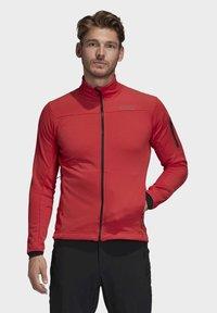 adidas Performance - STOCKHORN FLEECE JACKET - Sweat polaire - glory red - 0