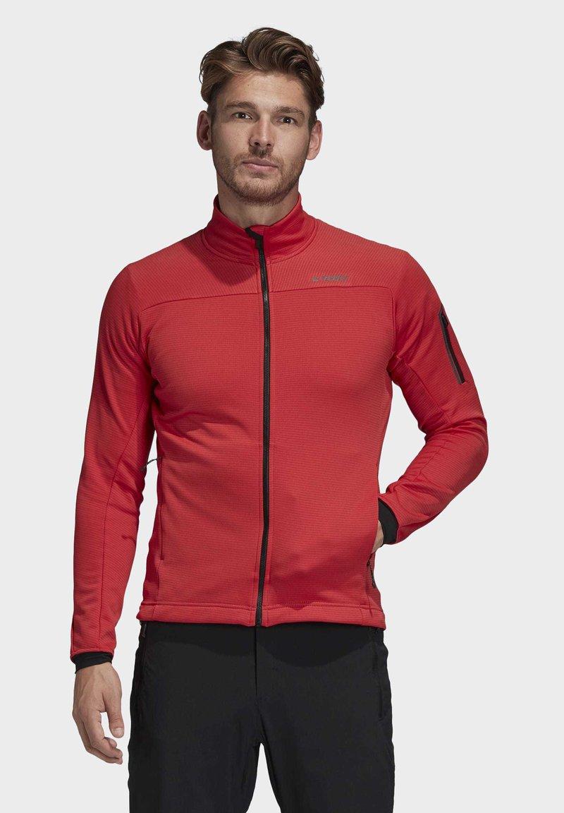 adidas Performance - STOCKHORN FLEECE JACKET - Sweat polaire - glory red