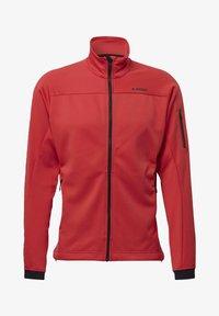adidas Performance - STOCKHORN FLEECE JACKET - Sweat polaire - glory red - 6