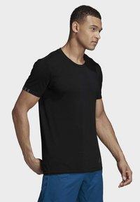 adidas Performance - 25/7 T-SHIRT - Basic T-shirt - black - 3