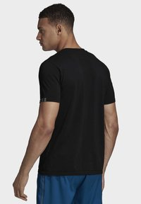 adidas Performance - 25/7 T-SHIRT - Basic T-shirt - black - 1