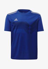 adidas Performance - CAMPEON 19 JERSEY - Print T-shirt - blue - 0