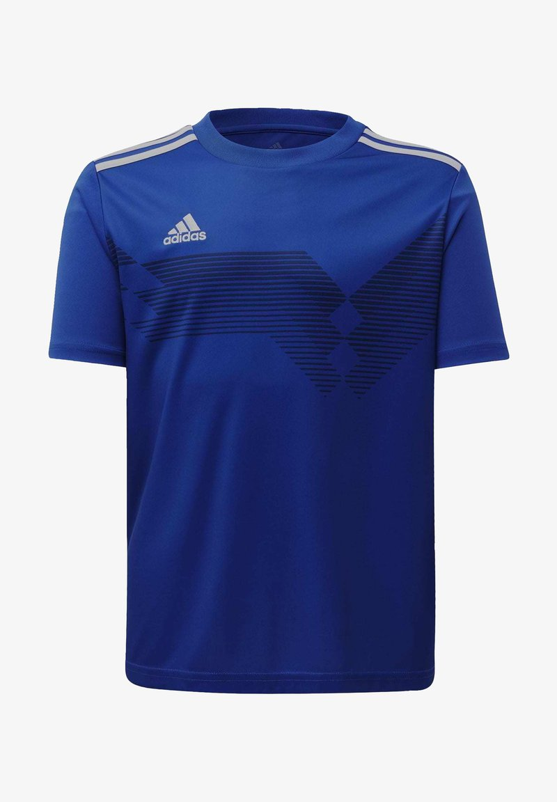 adidas Performance - CAMPEON 19 JERSEY - Print T-shirt - blue