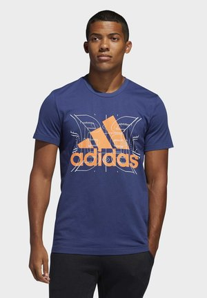 FUTURE COURTS T-SHIRT - T-shirt print - tech indigo