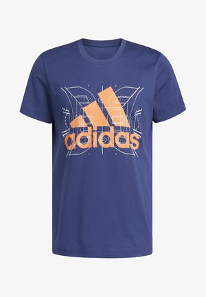 FUTURE COURTS T-SHIRT - T-shirt print - tech indigo