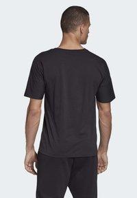 adidas Performance - ADIDAS Z.N.E. 3-STRIPES T-SHIRT - Print T-shirt - black - 1