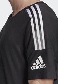 adidas Performance - ADIDAS Z.N.E. 3-STRIPES T-SHIRT - Print T-shirt - black - 6