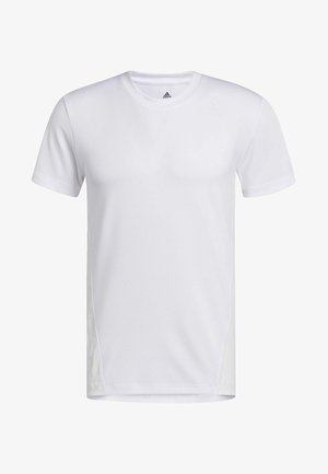 AEROREADY 3-STRIPES  - Basic T-shirt - white