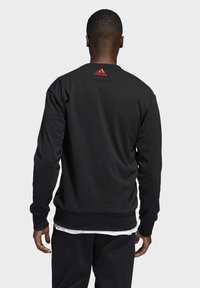 adidas Performance - HARDEN FLEECE CREW SWEATSHIRT - Sweatshirt - black - 1