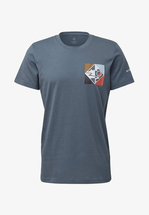 TERREX BLUE BLAZES  - Print T-shirt - legacy blue