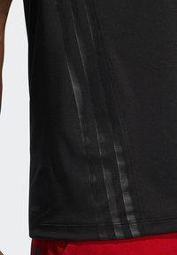 adidas Performance - AEROREADY 3-STRIPES  - Funktionströja - black - 5