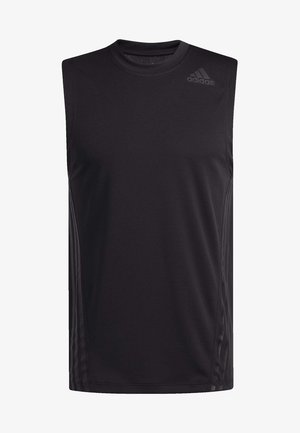 AEROREADY 3-STRIPES  - T-shirt de sport - black