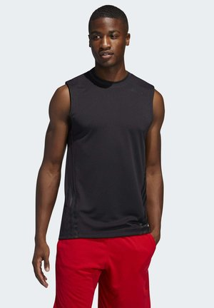 AEROREADY 3-STRIPES  - Funktionsshirt - black