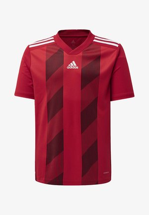 STRIPED 19 JERSEY - T-Shirt print - red