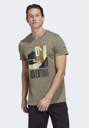 TERREX ADVENTURE T-SHIRT - T-shirt print - green