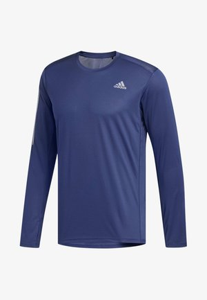 2020-01-01 OWN THE RUN LONG-SLEEVE TOP - Sports shirt - tech indigo