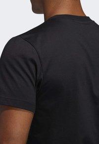 adidas Performance - GAME ON LOCK T-SHIRT - Print T-shirt - black - 4