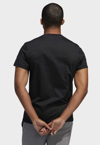 adidas Performance - GAME ON LOCK T-SHIRT - Print T-shirt - black - 1