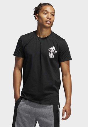 STAY TUNED T-SHIRT - Print T-shirt - black