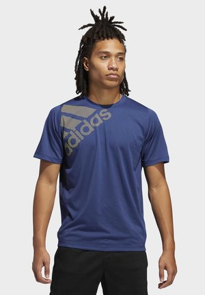 FREELIFT BADGE OF SPORT GRAPHIC TEE - T-shirt print - tech indigo