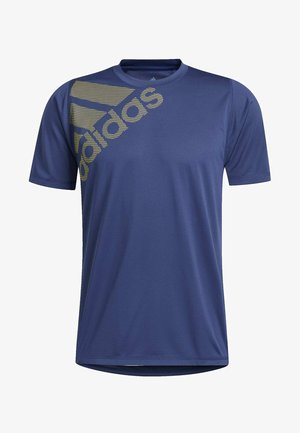 FREELIFT BADGE OF SPORT GRAPHIC TEE - T-shirt imprimé - tech indigo