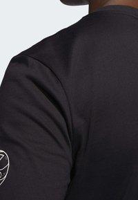 adidas Performance - LIL STRIPE CANNONBALL T-SHIRT - Longsleeve - black - 5